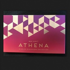 BAD HABIT ATHENA EYESHADOW PALETTE has 18 …